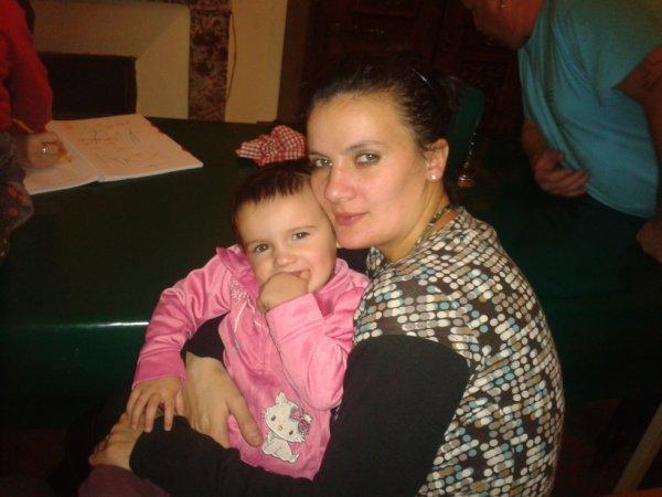 ma soeur avec sa fille