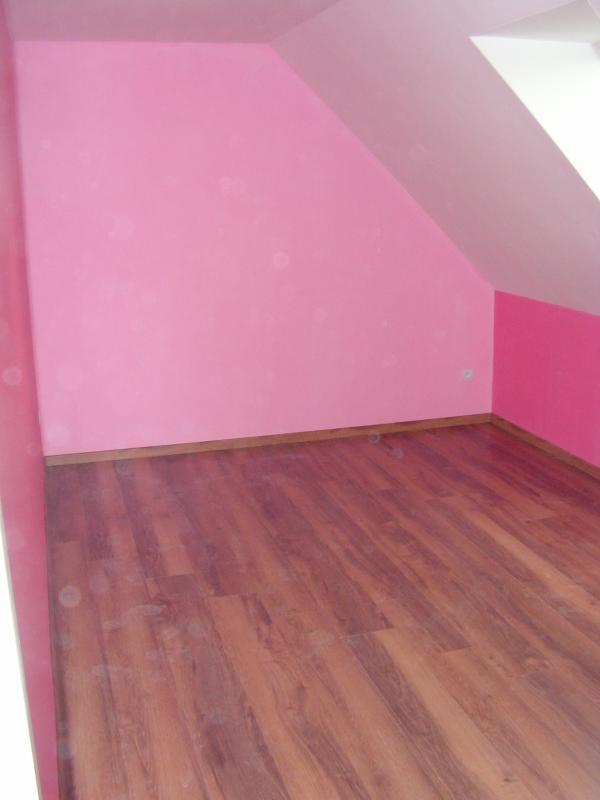 Chambre de la l ane notre fille la construction de wanda et ludo par mais - Chambre peinture 2 couleurs ...