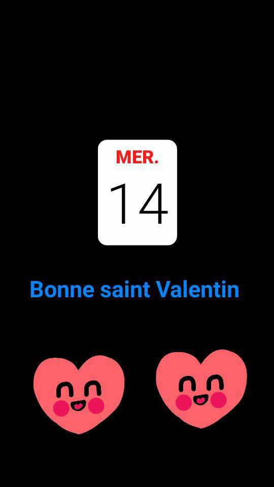 Bonne saint Valentin a tous ^^