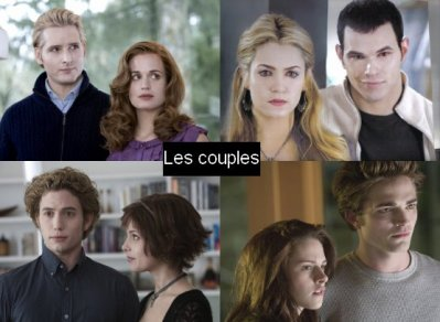 Les couples Twilight