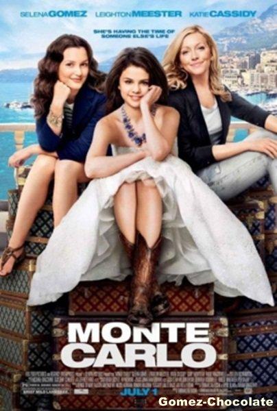 Découvrez le poster du film Monte Carlo avec Selena qui pose aux côtés de Leighton Meester et Katy Cassidy: