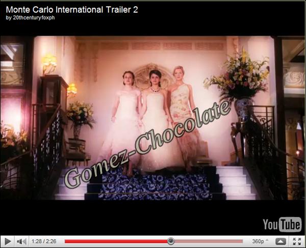 Découvrez des photos de Selena dans Monte Carlo: