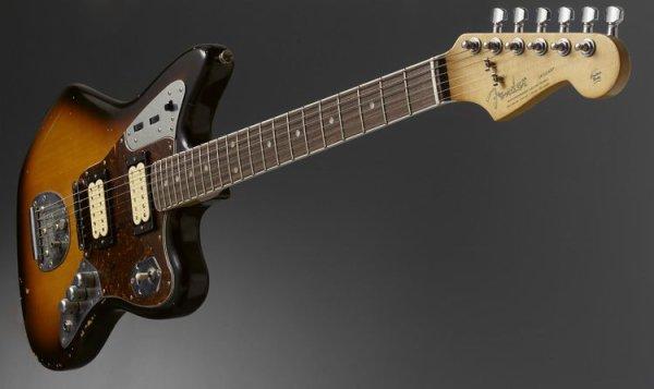 Fender jaguar Sunburst signature K.Cobain