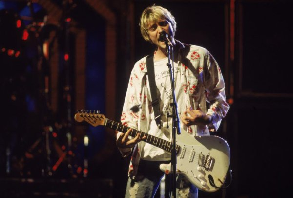 MTV  Music Awards - Nirvana 1992