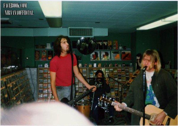 Live Nirvana  Music store !!