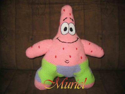 Patrick l 39 toile de mer crochet - Patrick l etoile ...