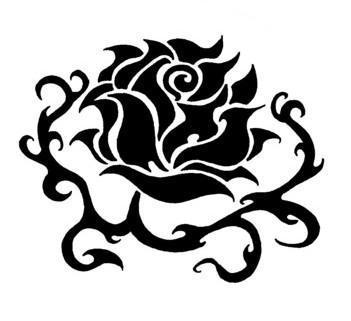 Tatouage Rose Des Tribal En Pagaille