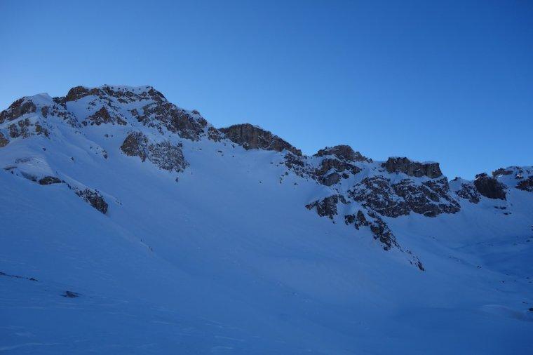 Le Col des Ourdéis ( 2440m)