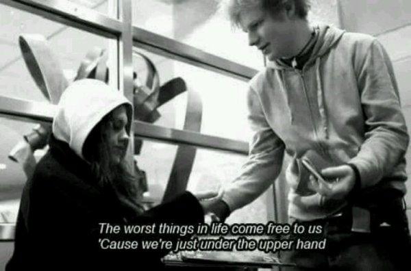 """""""The a team"""" Ed Sheeran"""