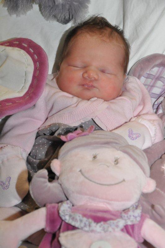 ma fille ilana née le 18/10/2011