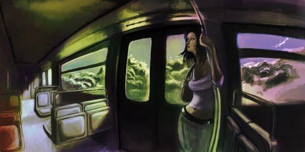 matt painting projet: storyboard