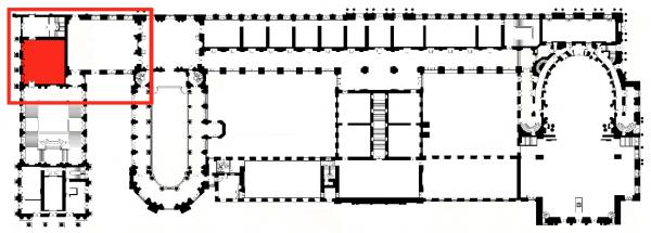 Premier étage - Aile nord - 381 Salle des états généraux