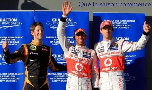 Course n°1 Grand Prix d'Australie - Melbourne 2012 -
