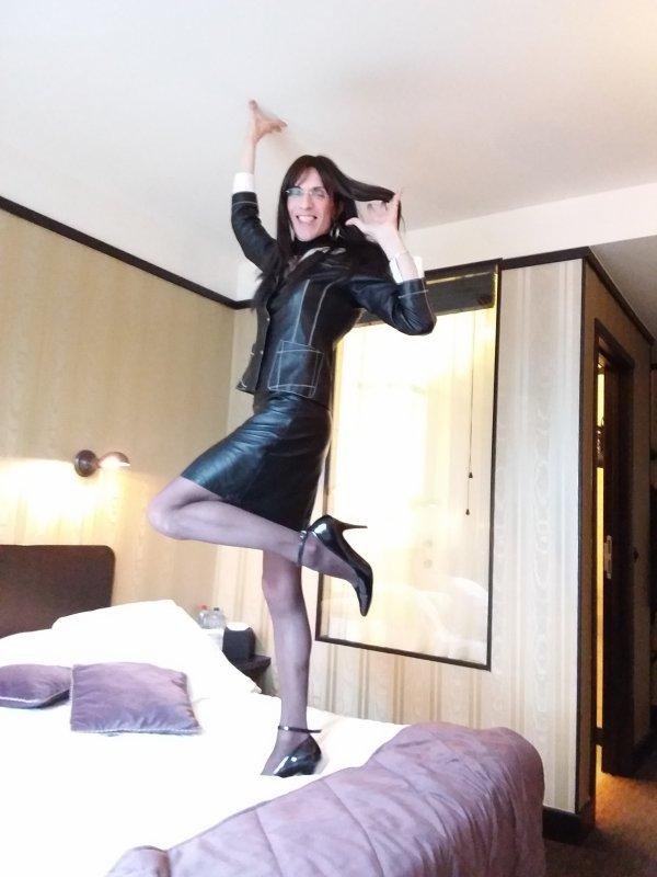 JE M'ENVOIE EN L'AIR A L'HOTEL LE BERGER