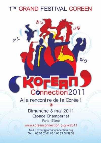 CONCERT K-POP A KOREAN CONNECTION LE 08 MAI 2011
