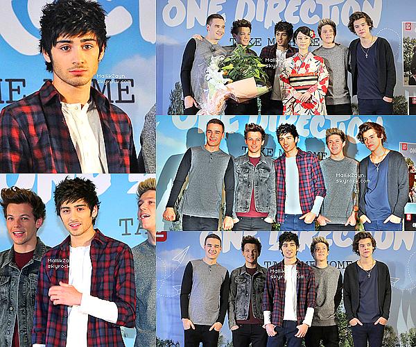 - 18/01/13 : Les garçons lors d'une conférence de presse au Japon. -
