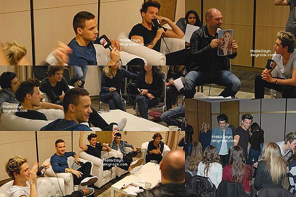 - Vidéo et photos des garçons lors de l'interview avec Cauet pour les NMA's . + Vidéo courte de la rencontre des boys avec Daniel et Sidoine de la star academy. -