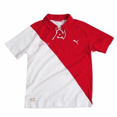 Polo Monaco blanc rouge Puma !!!