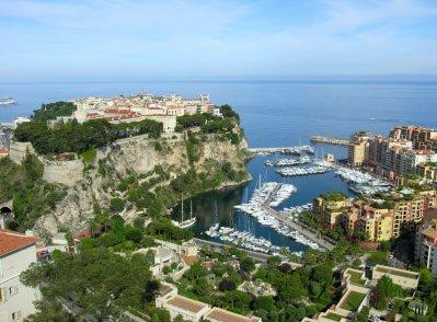 La vue de Monaco !!!