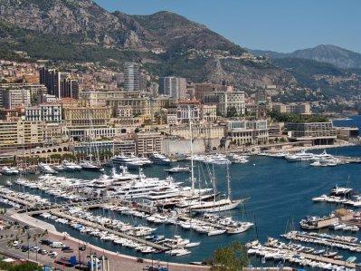 Le port De Monaco .