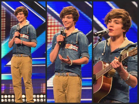 Union J - George Shelley.