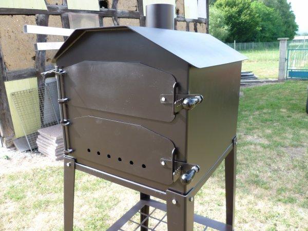 Réalisation de four à tarte flambée avec son chassis
