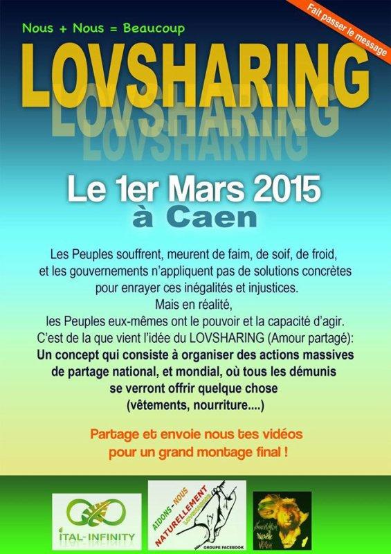 LOVSHARING 1er mars à Rouen