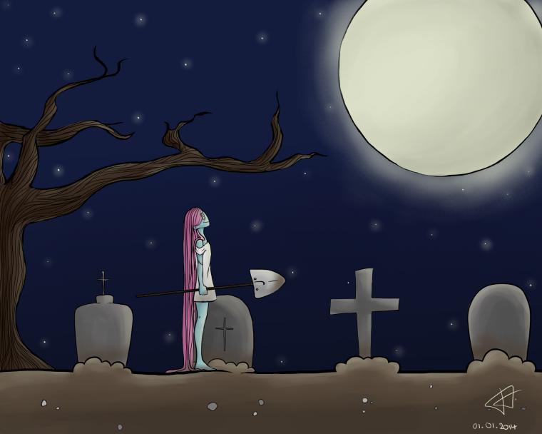 Saki under the moon ~