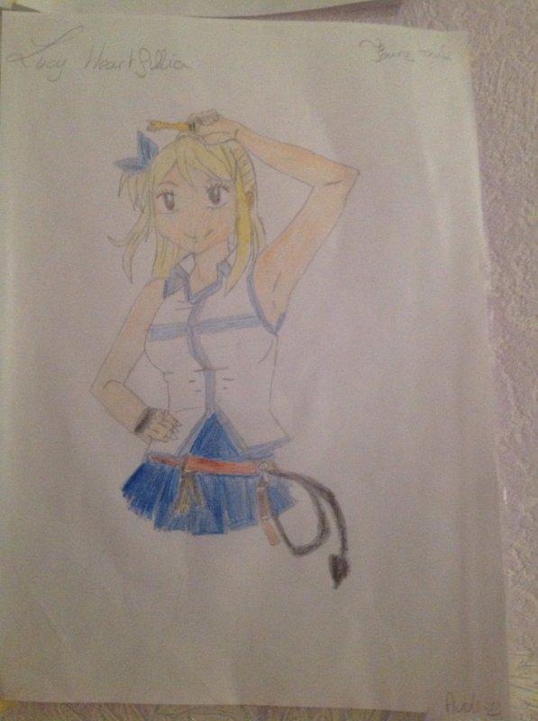 Dessins de Lucy Heartfilia (Fairy Tail)
