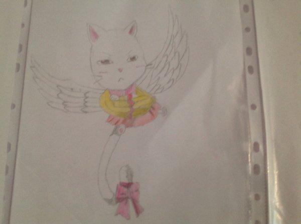 Dessin de Carla du manga Fairy Tail !!