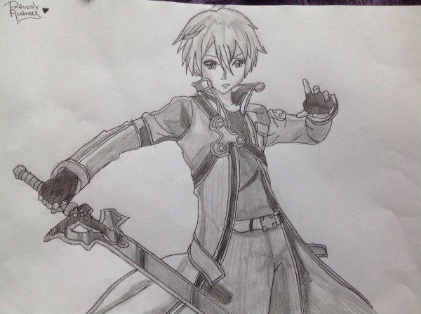 Dessin de Kirito ( Sword Art Online )