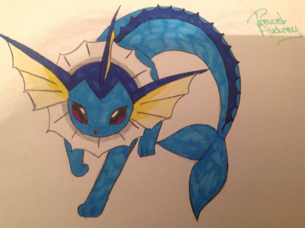 Dessin de Aquali (Pokemon)
