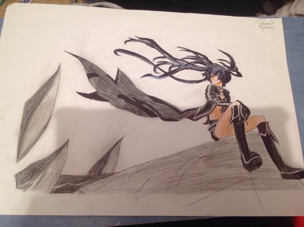 Dessin de Black Rock Shooter