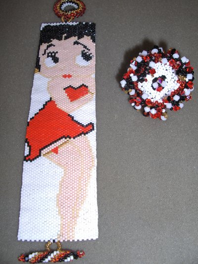 Betty Boop et sa froufrou !
