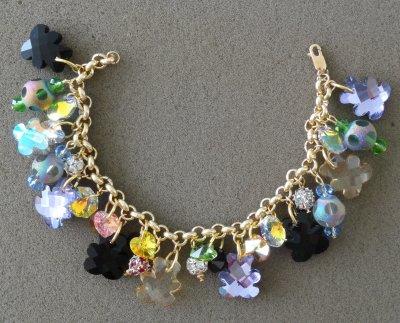 Bracelet bling bling !