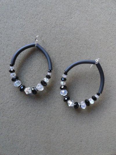 Boucles d'oreilles PVC !