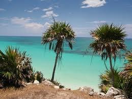écro couleur mer des Caraïbes !
