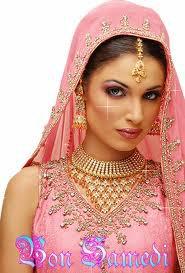 Le mariage du fuchsia et de l'or ! j'adore !