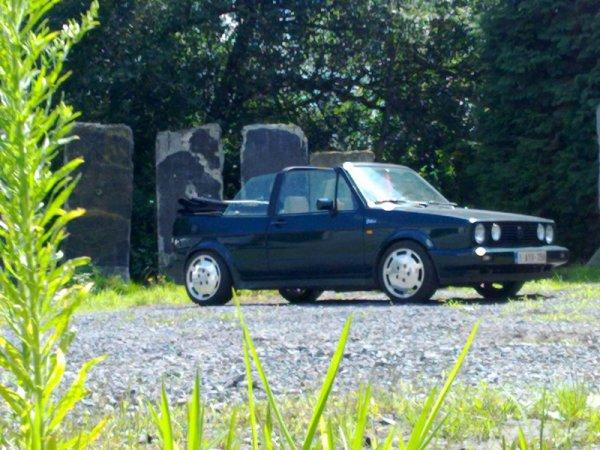 Ma Golf 1 Cabriolet