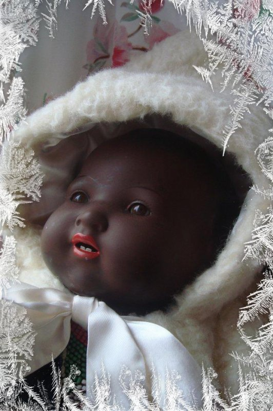 mon baby a froid, alors le pagne n'est plus de mise.....bbrrrr.... !