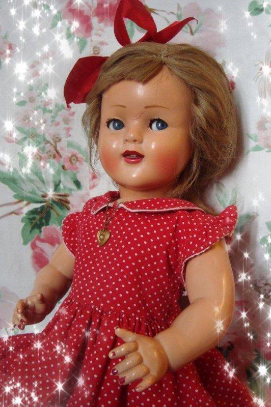 J'ai encore joué à la poupée aujourd'hui....
