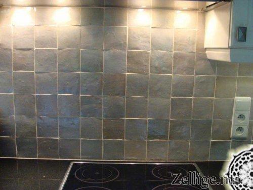 Revetement Mur Cuisine En Zellige Mosaique Zellige Marocain
