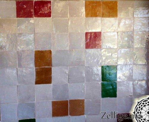 Revêtement murs salle de bain Un magnifique mélange en Zellige ...