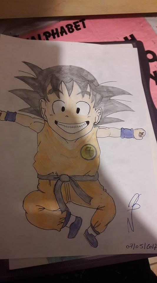 Goku enfant