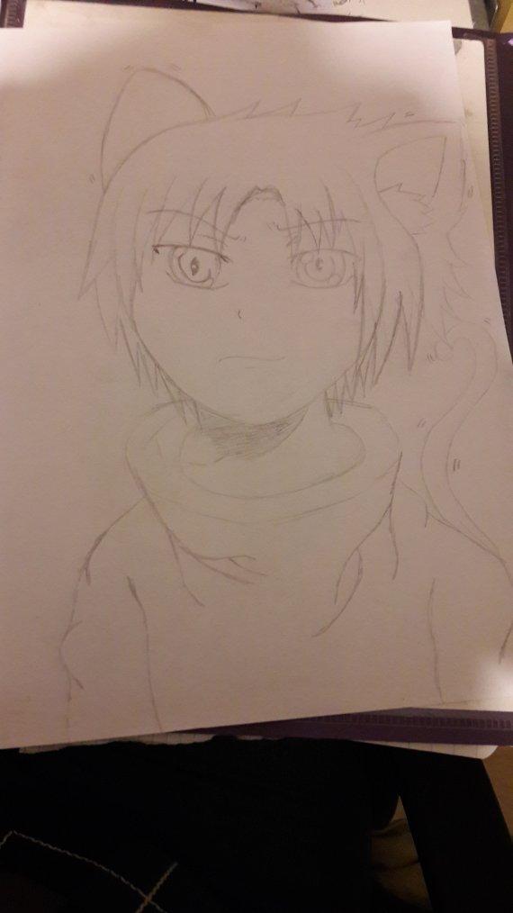 Sasuke enfant version Neko