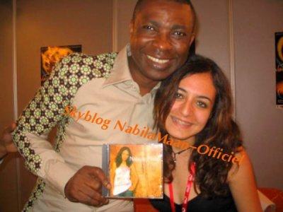 moi avec Mr Youssou N'Dour Festival Mawazine
