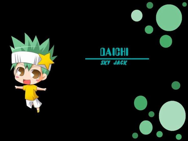 Shugo Chara° Daichi (Shugo Chara de Kukai)