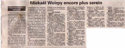 """"""" Championnat des Vosges de Cross """", à Golbey  le 09/01/2011,"""