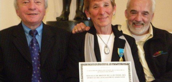 Agnès Noiriel, une femme en or