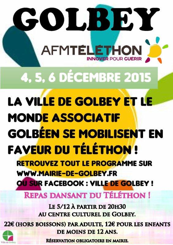 L'AC-Golbey se joint à l'AFM-Téléthon